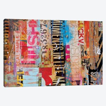 Metro Mix 21 I 3-Piece Canvas #ERI11} by Erin Ashley Canvas Art Print