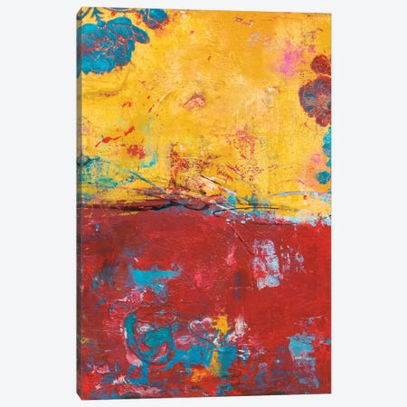 Mexican Rose Canvas Print #ERI122} by Erin Ashley Art Print