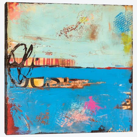 Blue Box Canvas Print #ERI123} by Erin Ashley Canvas Art Print