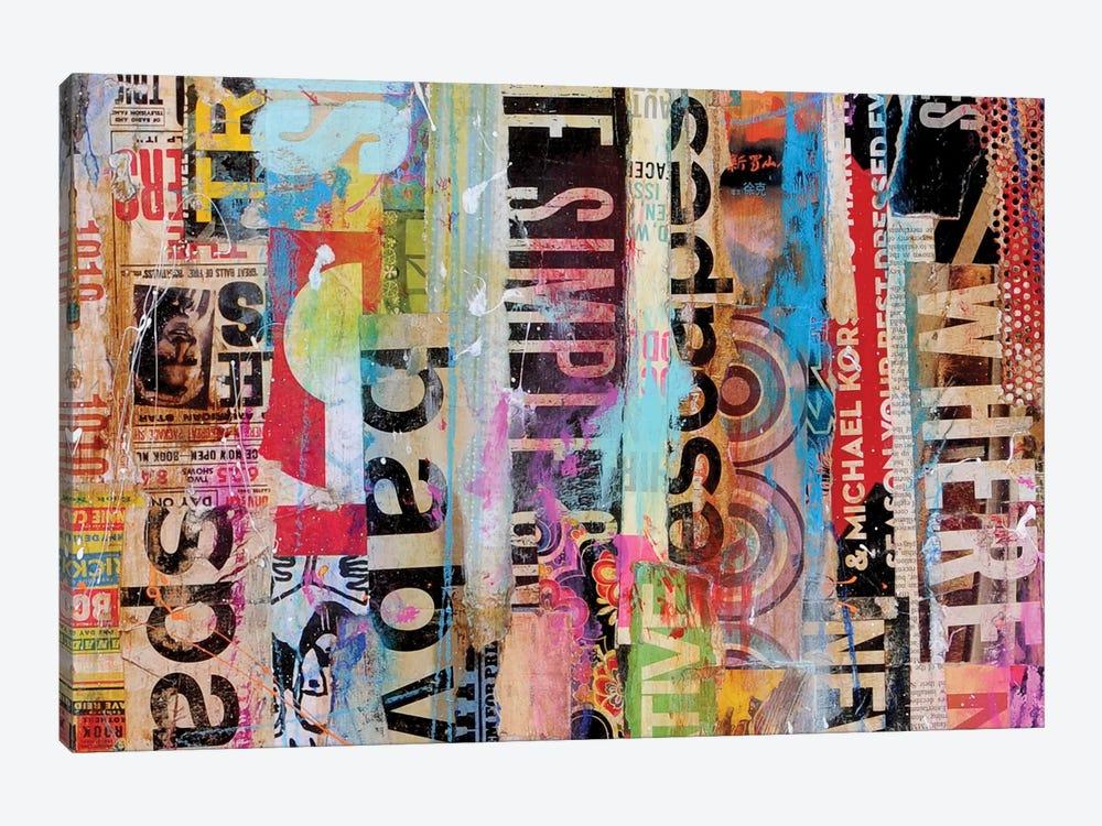 Metro Mix 21 II by Erin Ashley 1-piece Art Print