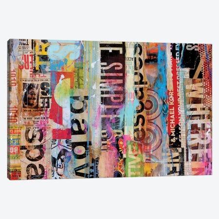Metro Mix 21 II Canvas Print #ERI12} by Erin Ashley Art Print