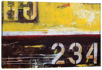 Junction 234 Canvas Art Print