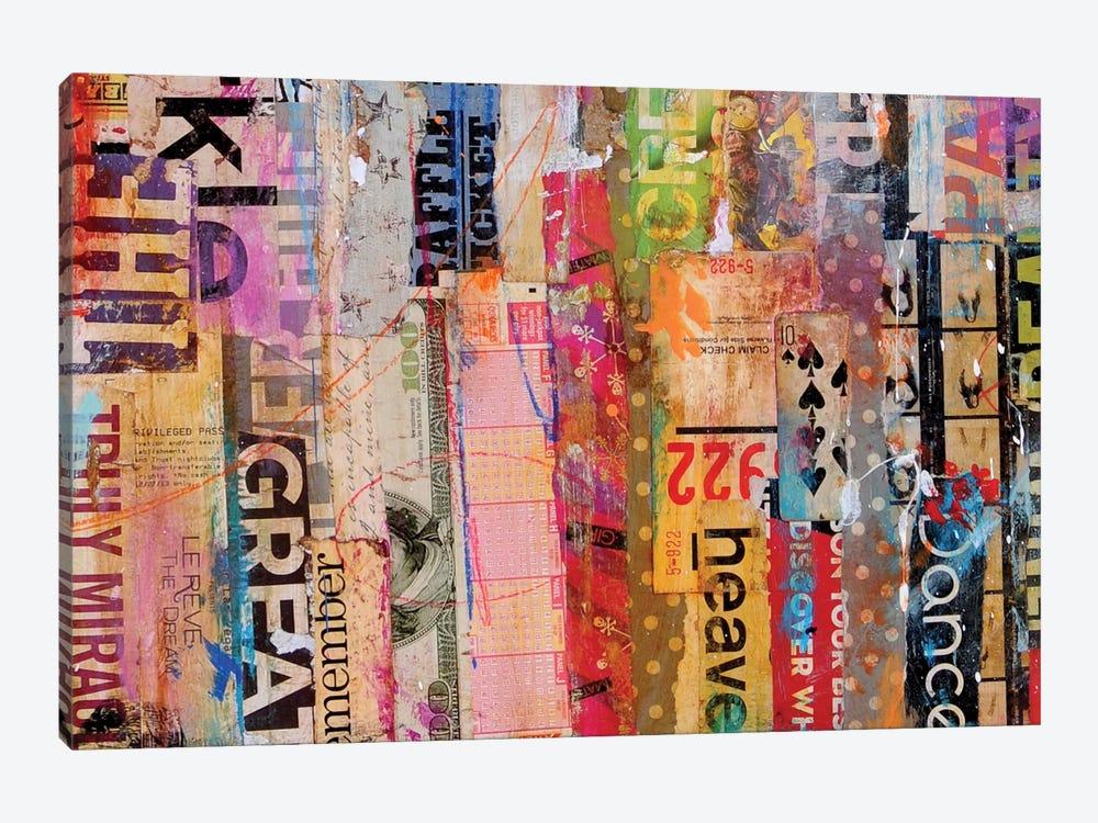 Metro Mix 21 III by Erin Ashley 1-piece Canvas Wall Art