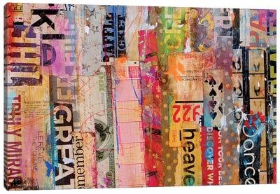 Metro Mix 21 III Canvas Art Print