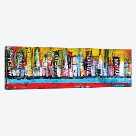 Skyline Canvas Print #ERI14} by Erin Ashley Canvas Art