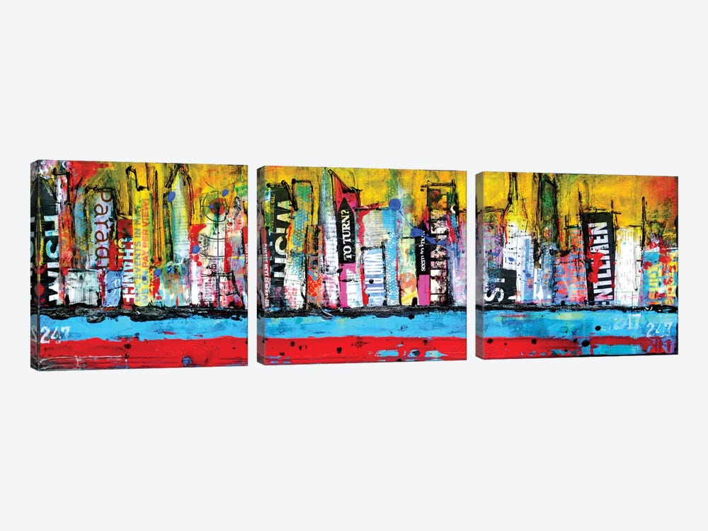 Skyline by Erin Ashley 3-piece Art Print