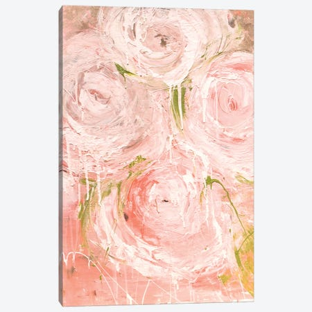 Vintage Rose Canvas Print #ERI152} by Erin Ashley Canvas Artwork