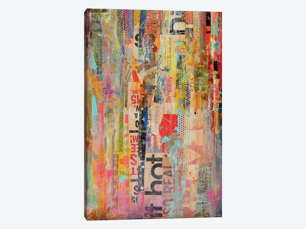 Metro Mix I 1-piece Canvas Wall Art