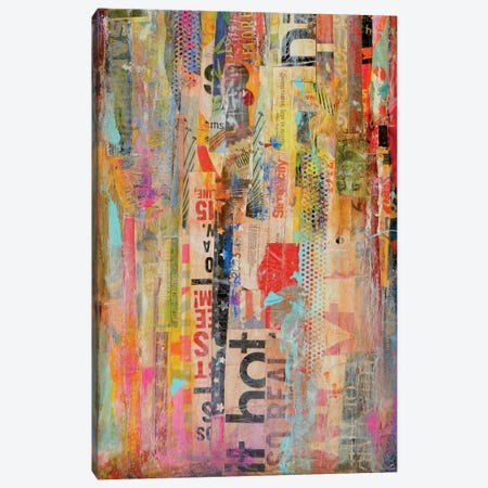Metro Mix I Canvas Print #ERI15} by Erin Ashley Canvas Wall Art