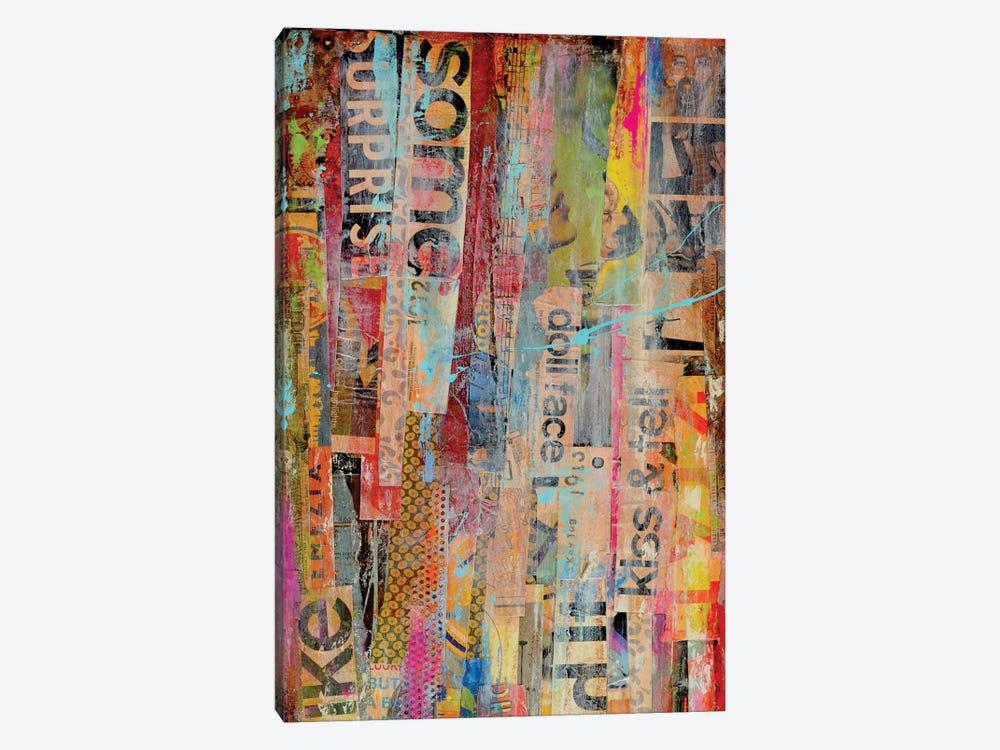 Metro Mix II by Erin Ashley 1-piece Canvas Art Print