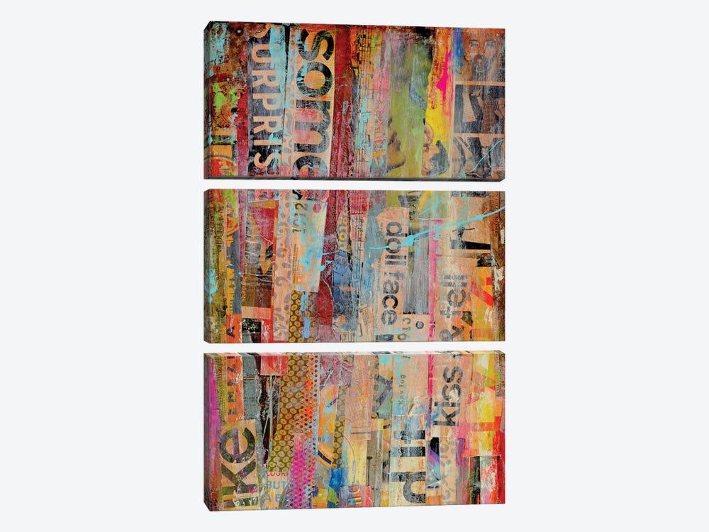Metro Mix II by Erin Ashley 3-piece Art Print