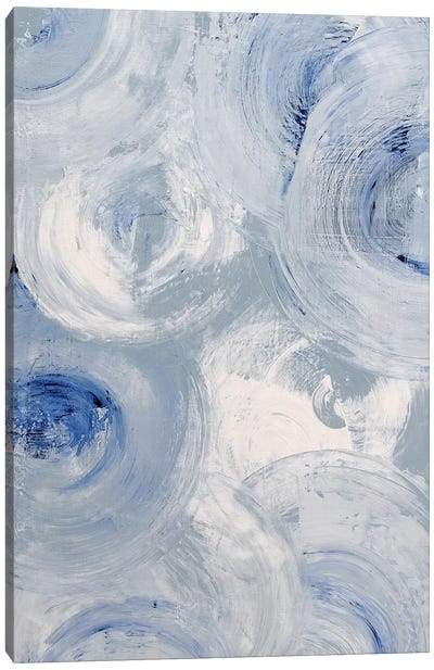 Spinning Aura Canvas Art Print