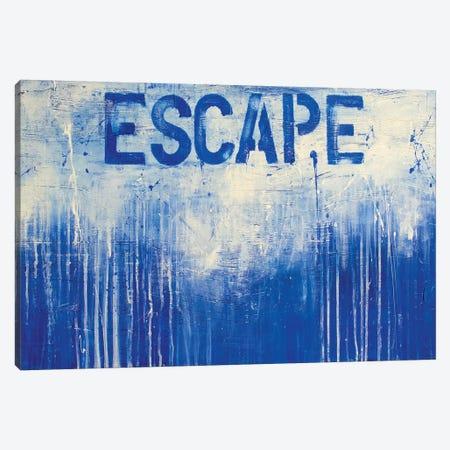Let It Go 3-Piece Canvas #ERI178} by Erin Ashley Canvas Wall Art