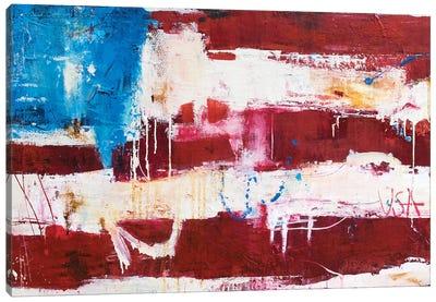 Abstract Flag Canvas Art Print