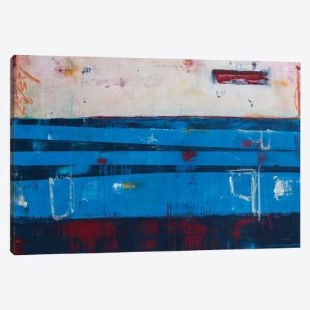 Crossing The Line Canvas Print #ERI188} by Erin Ashley Art Print