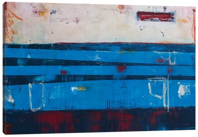 Crossing The Line Canvas Art Print