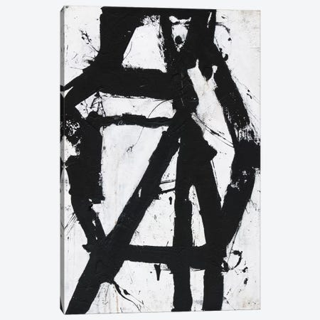 Ace Of Spades I Canvas Print #ERI18} by Erin Ashley Art Print