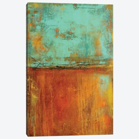 City Tin Canvas Print #ERI193} by Erin Ashley Canvas Artwork