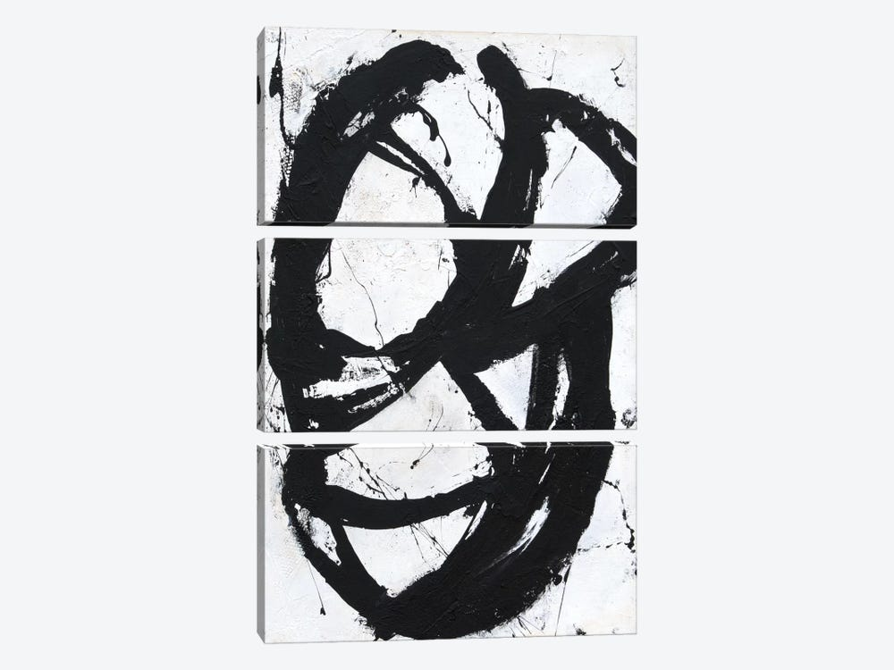 Ace Of Spades II by Erin Ashley 3-piece Canvas Artwork