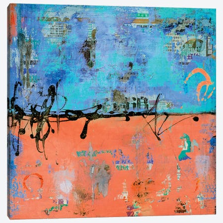 Back Street II Canvas Print #ERI202} by Erin Ashley Canvas Artwork