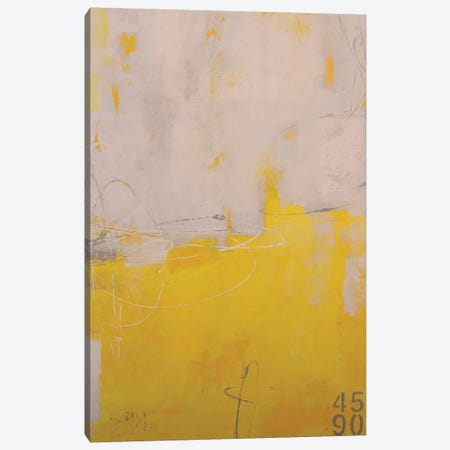 Yellow Stone II Canvas Print #ERI211} by Erin Ashley Canvas Print