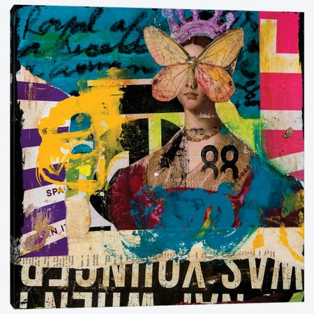 Royal Affair Canvas Print #ERI212} by Erin Ashley Canvas Print