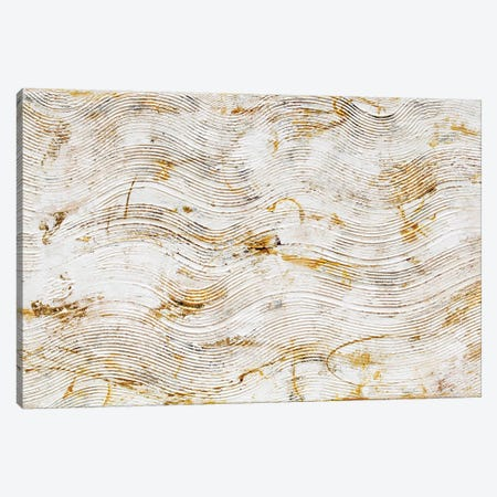 Golden Grooves Canvas Print #ERI221} by Erin Ashley Canvas Art