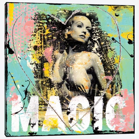Feels Like Magic Canvas Print #ERI224} by Erin Ashley Canvas Print