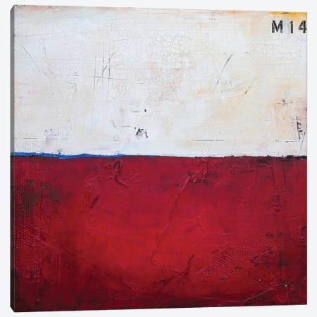 Red Box XIV Canvas Print #ERI253} by Erin Ashley Canvas Art Print
