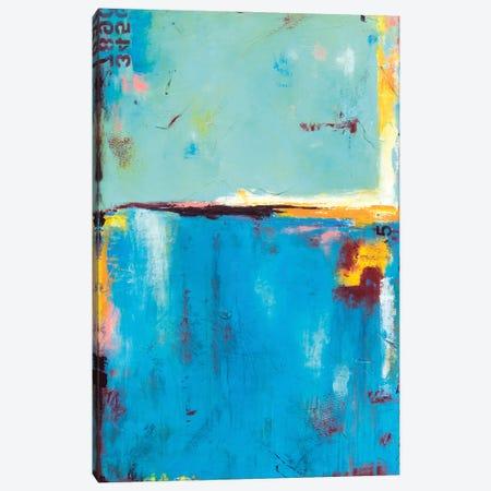 Matchbox Blue 55 Canvas Print #ERI264} by Erin Ashley Canvas Art Print