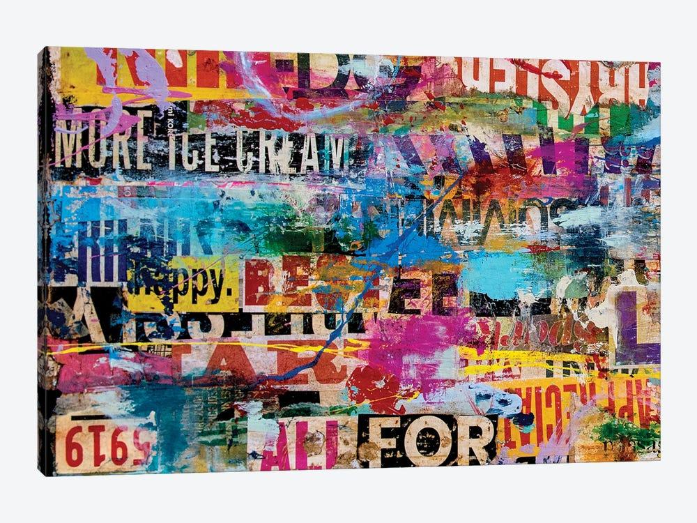 Metromix Luv I by Erin Ashley 1-piece Art Print