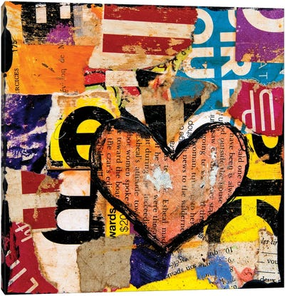 Mixed Luv Canvas Art Print