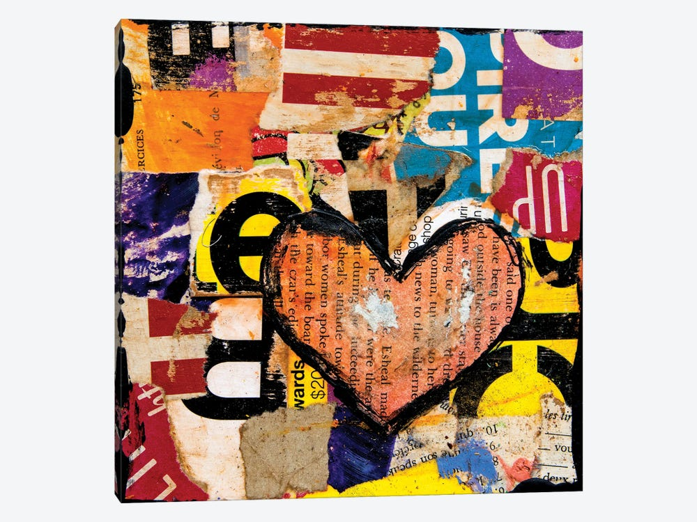 Mixed Luv by Erin Ashley 1-piece Canvas Print