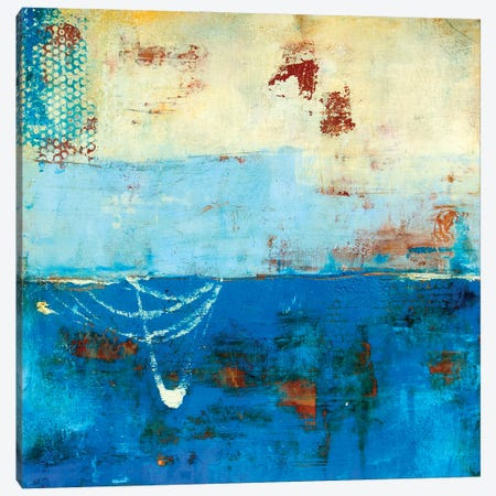 Wind Surfing Canvas Print #ERI269} by Erin Ashley Canvas Art