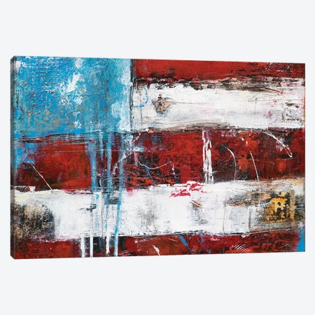 Flag Canvas Print #ERI35} by Erin Ashley Canvas Artwork