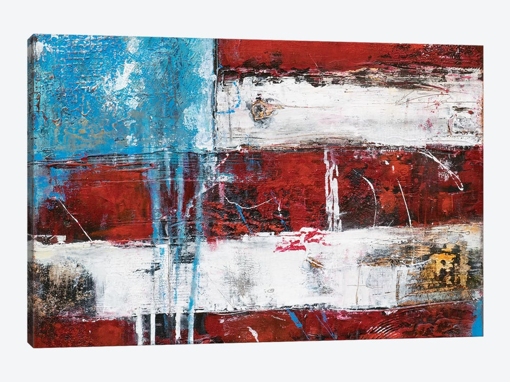 Flag by Erin Ashley 1-piece Canvas Art