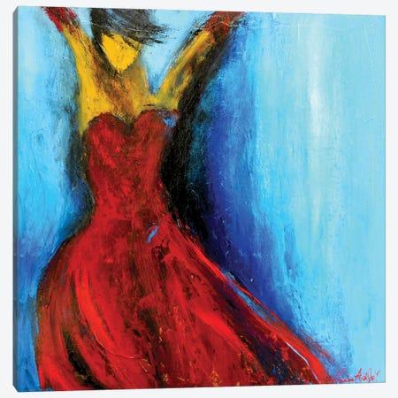 Hot Tango Canvas Print #ERI37} by Erin Ashley Canvas Artwork