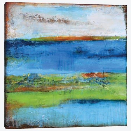 Blue Ridge Escape I Canvas Print #ERI3} by Erin Ashley Canvas Artwork