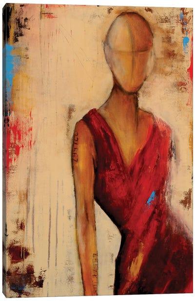 Miss Me Blind Canvas Art Print