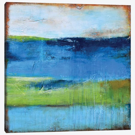 Blue Ridge Escape II Canvas Print #ERI4} by Erin Ashley Art Print