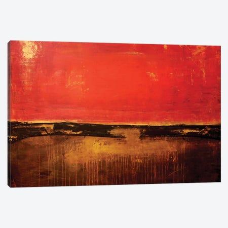Shanghai Red Canvas Print #ERI52} by Erin Ashley Art Print