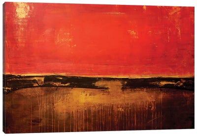 Shanghai Red Canvas Art Print