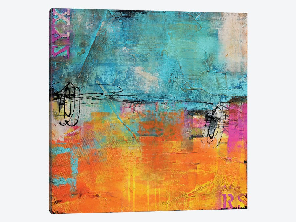 Urban Poetry I by Erin Ashley 1-piece Art Print