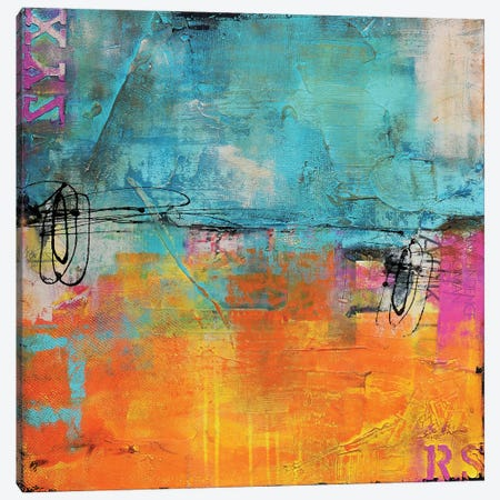 Urban Poetry I 3-Piece Canvas #ERI54} by Erin Ashley Canvas Artwork