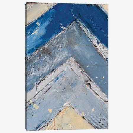 Blue Zag I Canvas Print #ERI5} by Erin Ashley Canvas Print