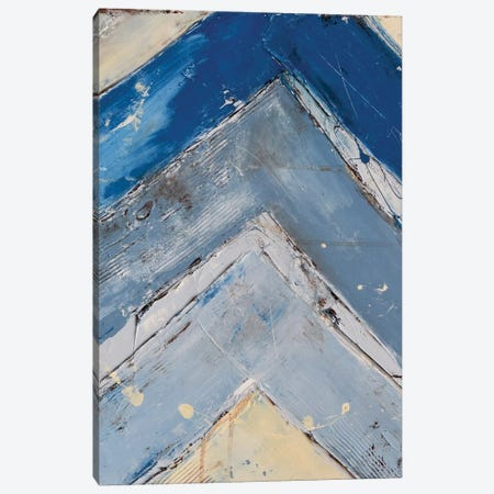 Blue Zag I Canvas Print #ERI5} by Erin Ashley Canvas Print