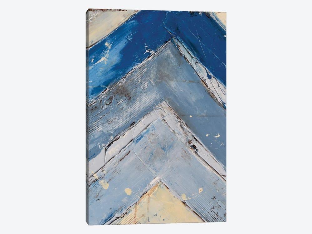 Blue Zag I by Erin Ashley 1-piece Art Print