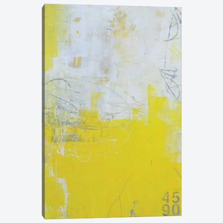 Yellow Stone Canvas Print #ERI60} by Erin Ashley Canvas Wall Art