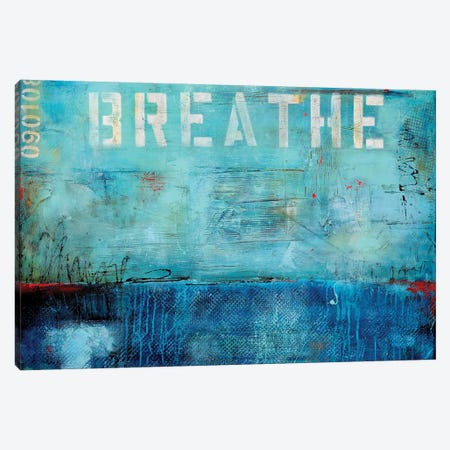 Breathe Canvas Print #ERI61} by Erin Ashley Canvas Wall Art