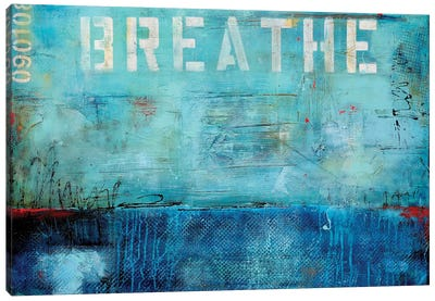 Breathe Canvas Art Print